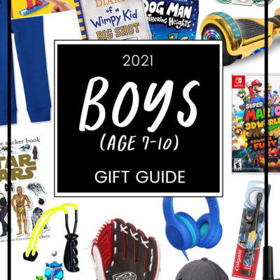 Gift Guide for Boys (Age 7-10)