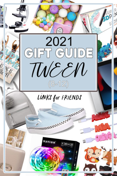 Gift Guide for Tween aged 8-12